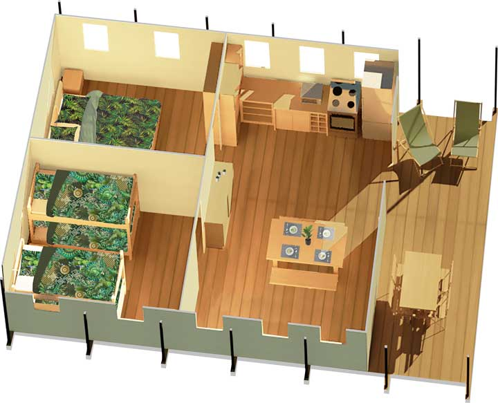 Plan Nature Tent